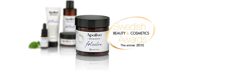 Apoliva Ört&Natur Fotsalva - Vinnare i Swedish Beauty & Cosmetic Awards 2015