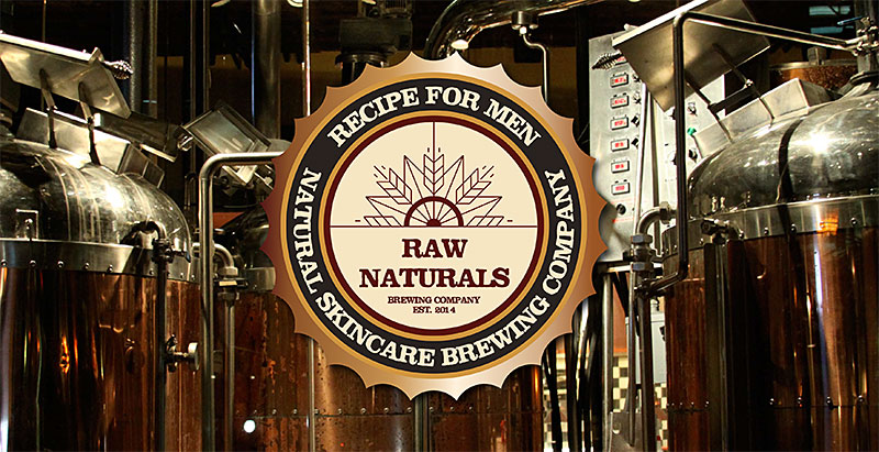 Raw Naturals by Recipe for men-logotyp
