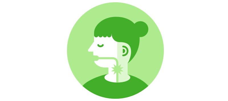 feber halsont huvudvärk