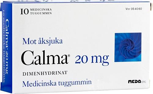 behandling mot illamående
