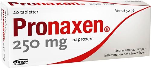 inflammationshämmande tabletter