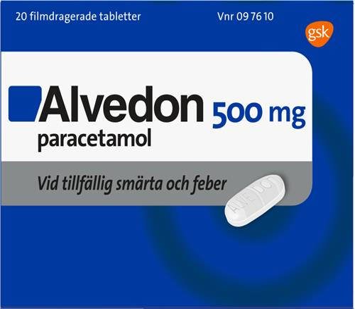 Alvedon eller ipren feber