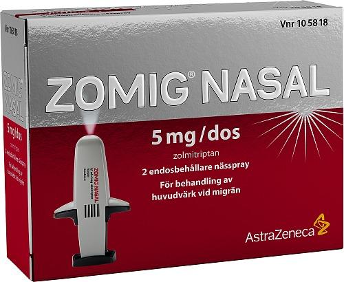 receptfria läkemedel mot migrän