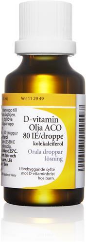 d vitamin pris apotek