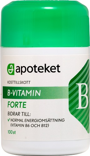 Vitamin b komplex apoteket