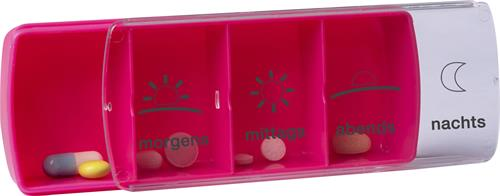 Anabox 7 dagar kompakt, rosa