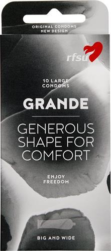 RFSU Grande kondom m beh.