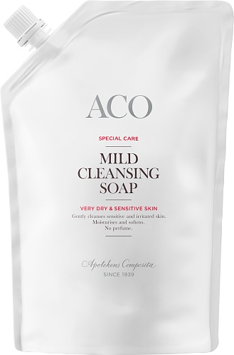ACO Mild cleansing soap refill SPC oparf