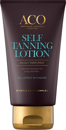 ACO Selftanning lotion