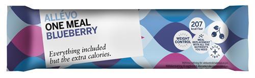 allevo blueberry bar
