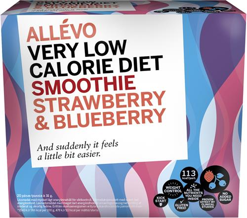 Allevo Smoothie Strawberry