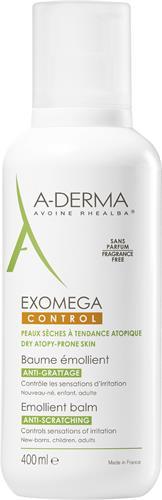A-Derma Exomega Control Balm 400 ml med pump
