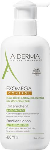 A-Derma Exomega Control Lotion 400 ml med pump