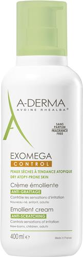 A-Derma Exomega Control Cream 400 ml med pump