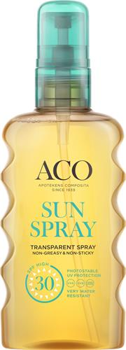 ACO Sun Transparent Spray SPF 30
