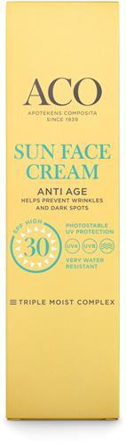 ACO Sun Face Cream Anti Age