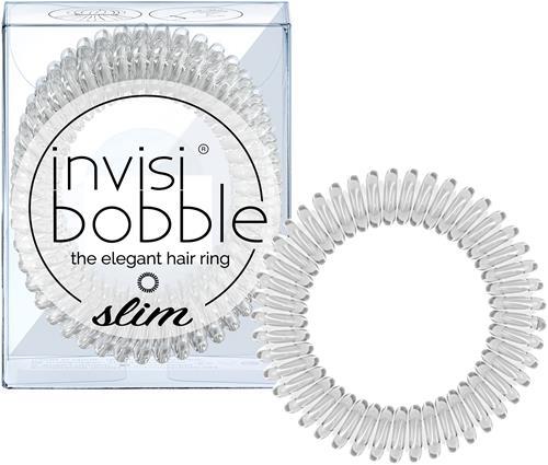 Invisibobbles Slim Crystal Clear Hårsnodd 3p