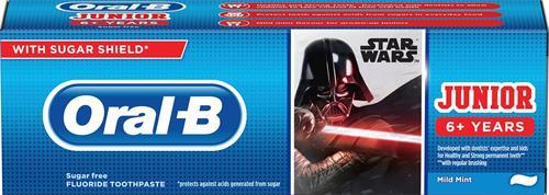 Oral B Star Wars Barntandkräm