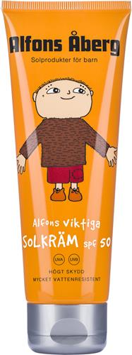 Alfons Åberg - Alfons viktiga Solkräm SPF 50 125 ml
