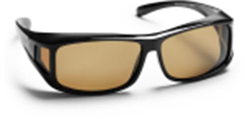 Alicante OTG Polarized Black - brown lens