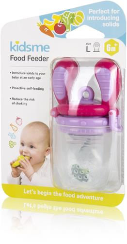 Kidsme  Food Feeder Lavendel 6m+