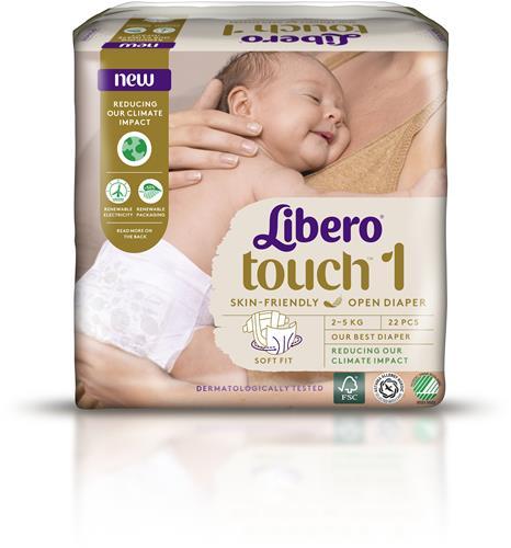 LIBERO  1 blöja 2-5 kg