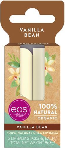 eos Organic Lip Stick Duo Vanilla Bean