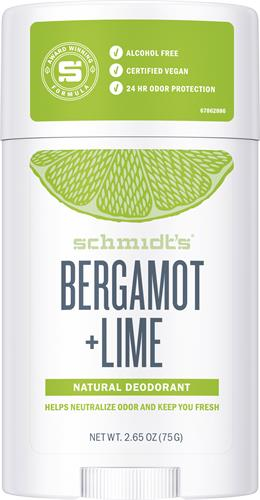 Schmidts Deo Stick Bergamot & Lime