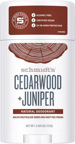 Schmidts Deo Stick Cedarwood & Juniper