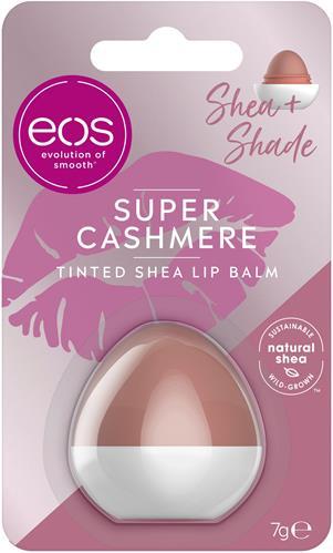 eos Organic  Lip Balm Shea+Shade Super Cashmere