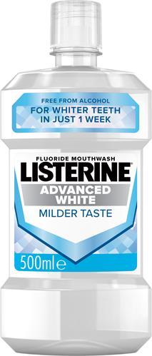 Listerine Advanced White MilderTaste Munskölj