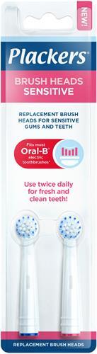 Plackers Brush head refills Sensitive