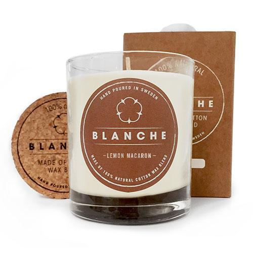 Blanche - Medium Lemon Macaron